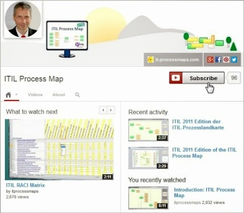 Now in the new channel layout: ITIL and the ITIL Process Map on YouTube